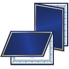 Navy/Gold Foil Cert